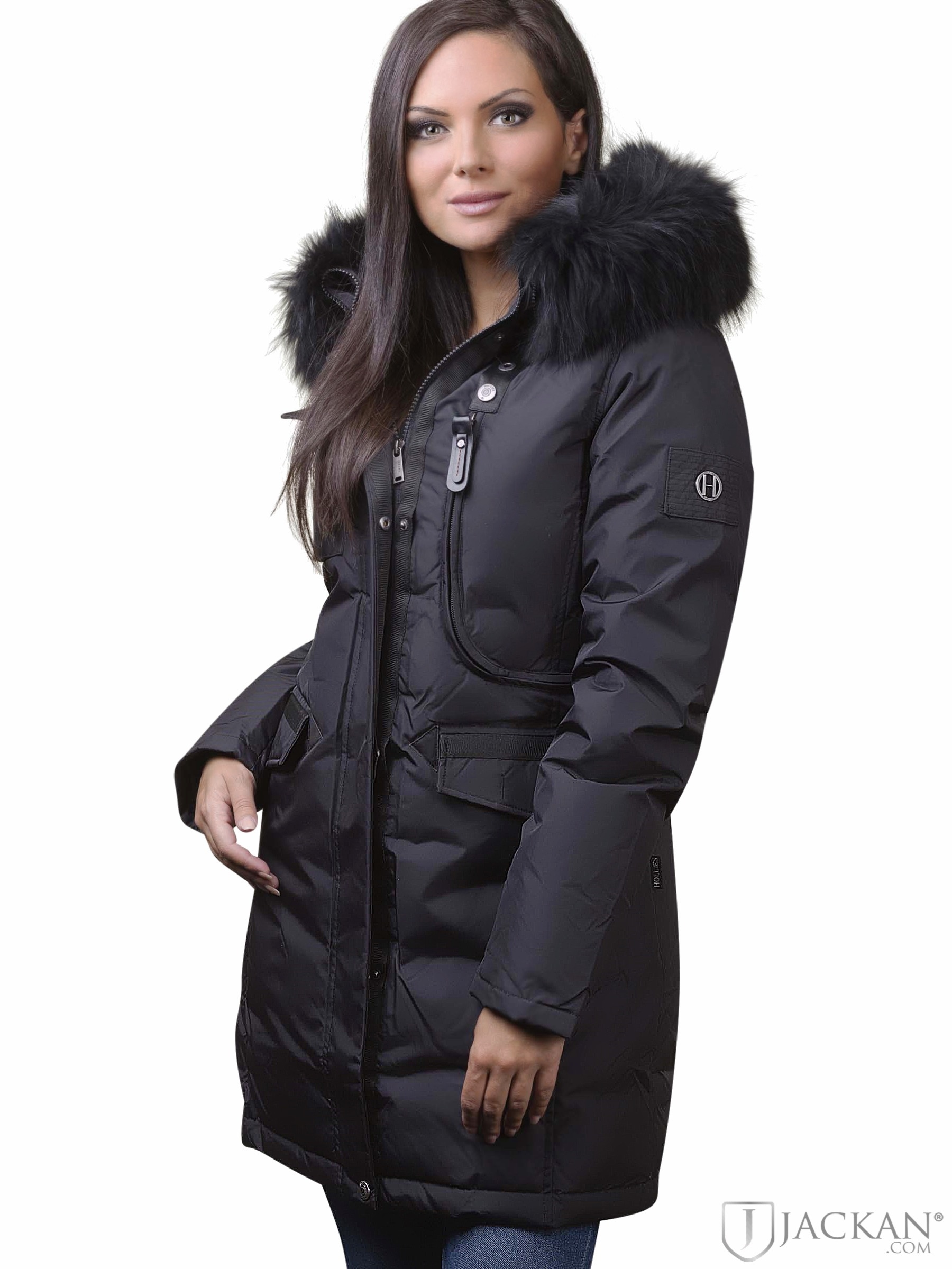 Köp Hollies Livigno Long Jacket Svart | Jackor