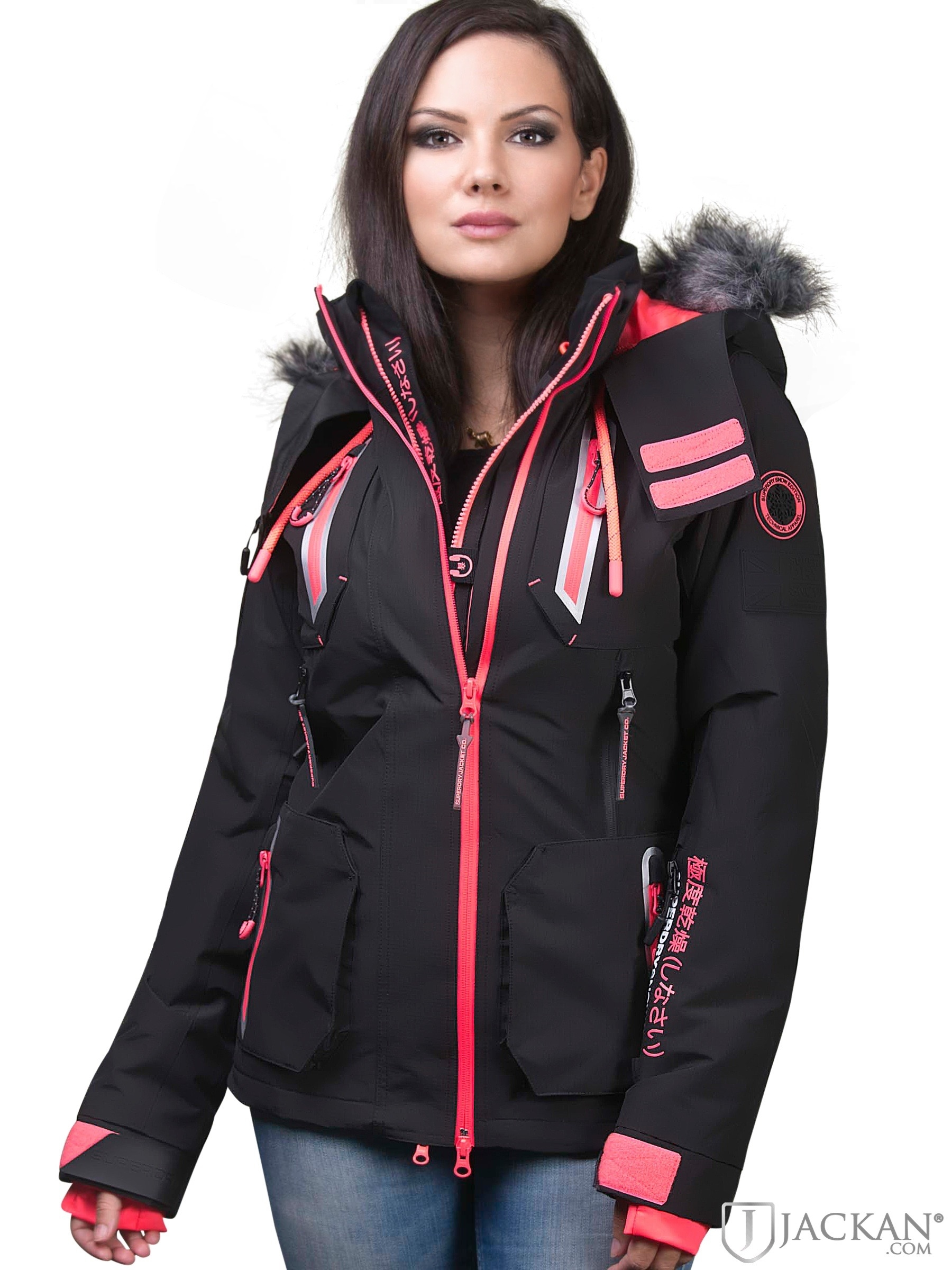 Ultimate Snow Action Jacket (Svart)