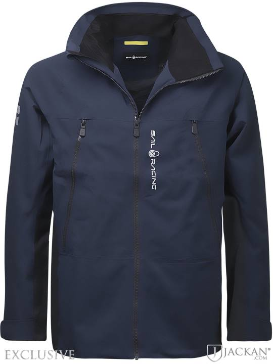 Spray Ocean Jacket i blå från Sail Racing | Jackan.com