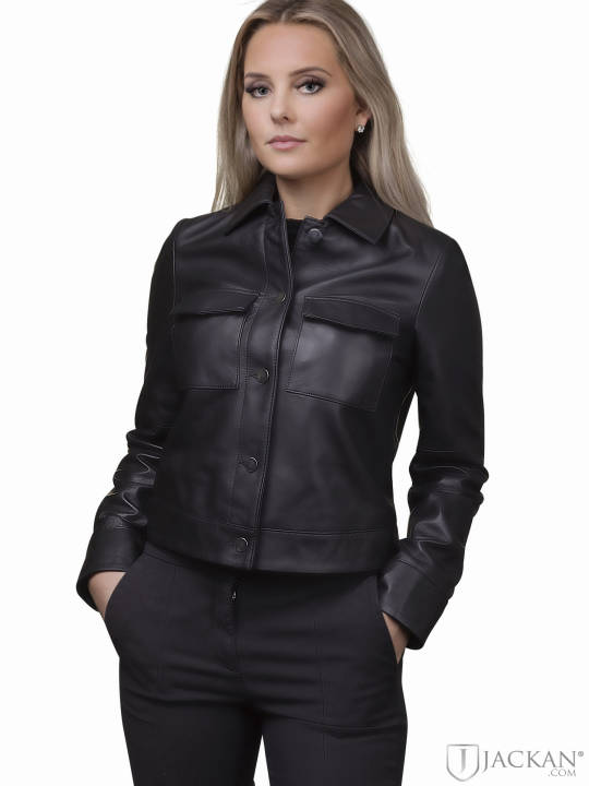 Lynn Pocket Leather Jacket från Jofama | Jackan.com