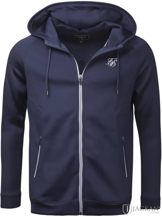 Element zip hood i navy från SikSilk | Jackan.com